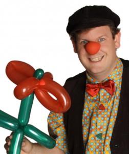 Clown und Zauberer Benji Wiebe Kreis Karlsruhe